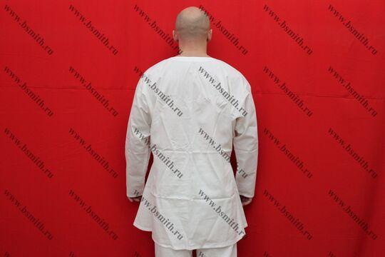 Камиза длинная, бязь, вид со спины