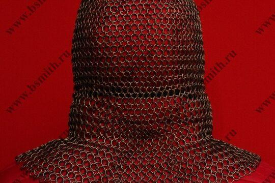 Койф кольчужный омедненный, 1.6х9 мм, круглое ожерелье, фото 4