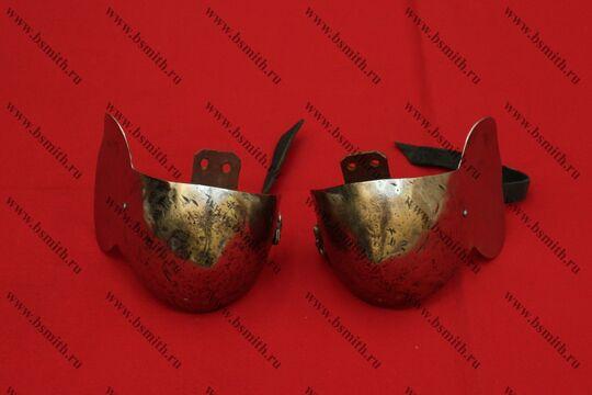 Налокотники миланские, титан, фото 1