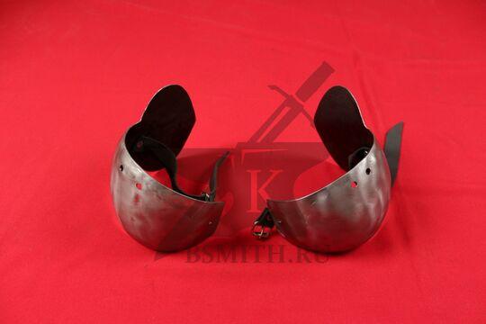 Налокотники миланские с лепестком, вариант 3, фото 2