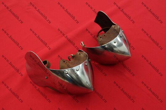 Налокотники миланские с лепестком, 65Г, фото 2