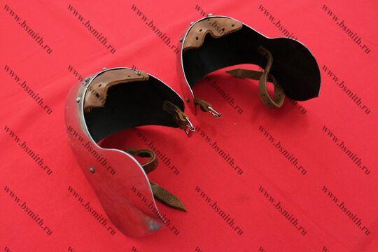 Налокотники миланские с лепестком, 65Г, фото 4