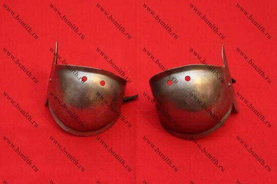 Налокотники миланские с лепестком, вариант 2, фото 1