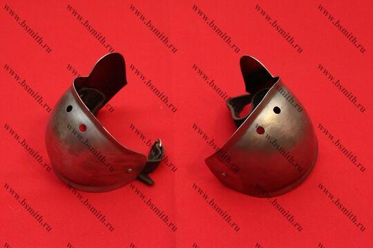 Налокотники миланские с лепестком, вариант 2, фото 2
