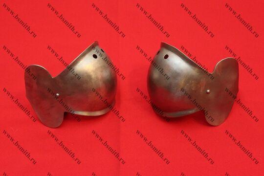 Налокотники миланские с лепестком, вариант 2, фото 3