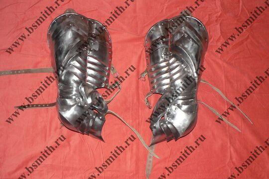 Ноги латные готические, фото 2