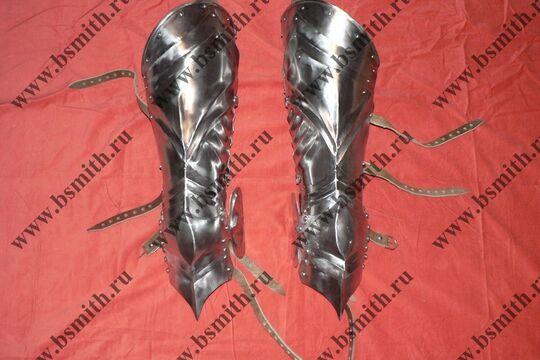 Ноги латные готические, фото 3