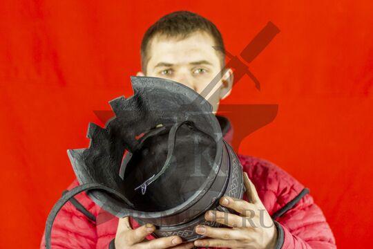 Шлем гномов Мории, пластик, вид изнутри
