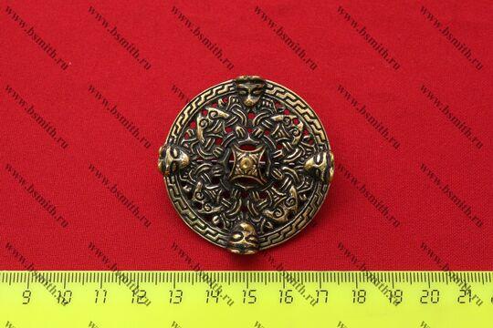 Фибула, Бирка, 9-10 век, размеры