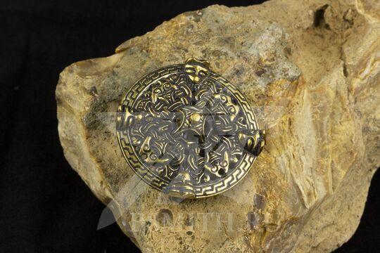 Фибула, Бирка, 9-10 век, фото 2