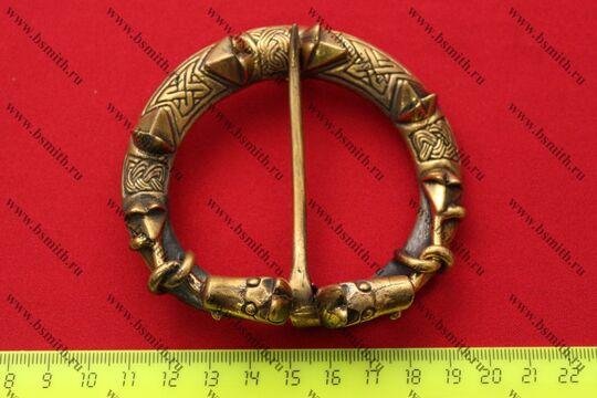 Фибула, Готланд, 10-11 век, размеры