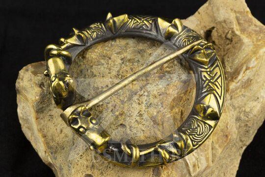 Фибула, Готланд, 10-11 век, фото 2