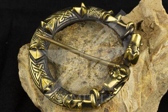 Фибула, Готланд, 10-11 век, фото 4