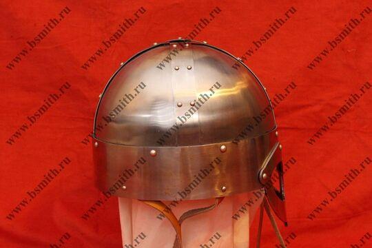Шлем из Гьёрмундбю упрощенный, подбородочные ремни, фото 2