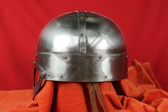 Шлем из Гьёрмундбю упрощенный, парашют, подбородочные ремни, фото 3