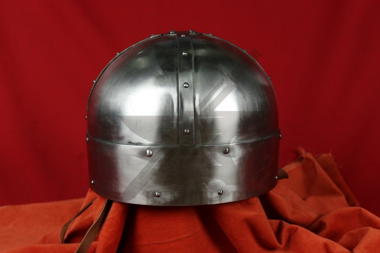 Шлем из Гьёрмундбю упрощенный, парашют, подбородочные ремни, фото 4