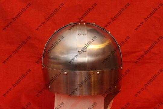 Шлем из Гьёрмундбю упрощенный, подбородочные ремни, фото 3