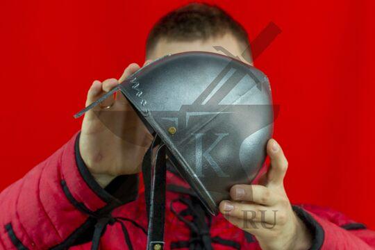 Шлем «норманнский» детский, пластик, вид сбоку