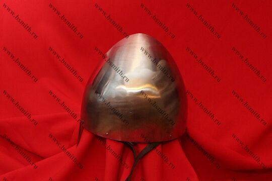"""Шлем норманнский (""""пилотка""""): купол, шлифовка, подвеска парашют, подбородочные ремни, фото 3"""