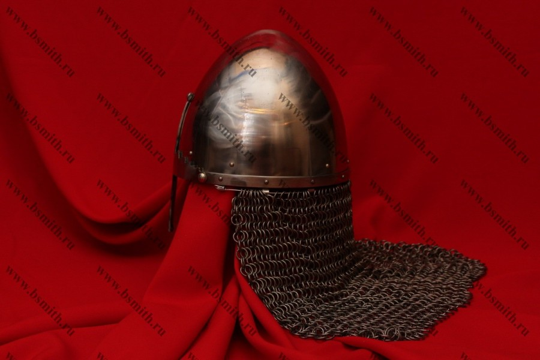 Шлем святого князя Вацлава с бармицей, фото 3