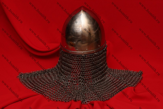 Шлем святого князя Вацлава с бармицей, фото 4
