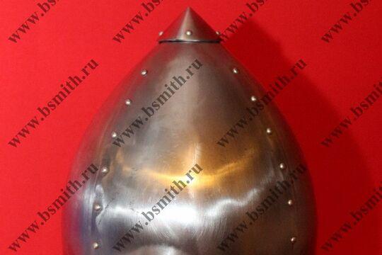 Шлем Тип 2 по Кирпичникову. Восточная Европа, Западная Сибирь, 8-12 века, фото 3