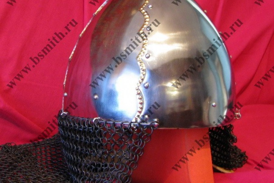 Шлем Тип 2 по типологии А.Н.Кирпичникова из Печа, Венгрия, 10 век. Фото 2