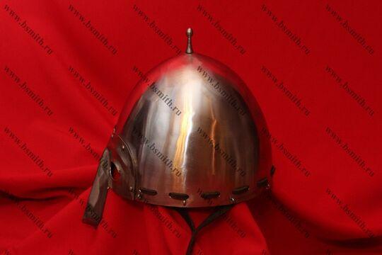 Шлем Тип 4 из Городца (купол, шлифовка, парашют, подбородочные ремни), фото 3