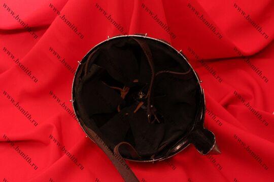 Шлем Тип 4 из Городца (купол, шлифовка, парашют, подбородочные ремни), фото 4