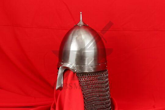 Шлем переяславского князя Ярослава Всеволодовича(купол, крепление бармицы, бармица), фото 2