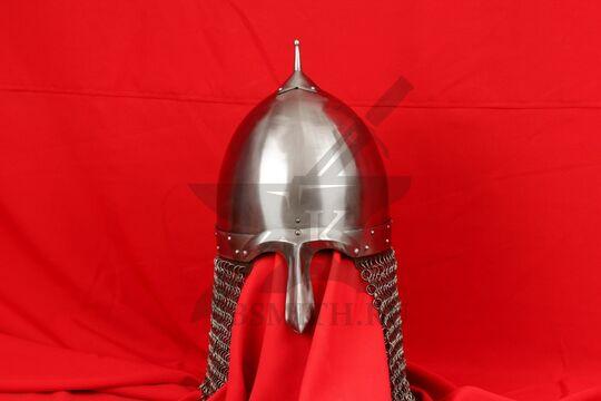 Шлем переяславского князя Ярослава Всеволодовича(купол, крепление бармицы, бармица)