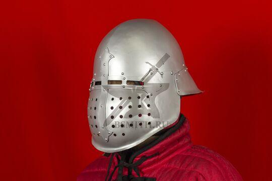 """Шлем """"Васхельм"""" тренировочный, вид в три четверти"""