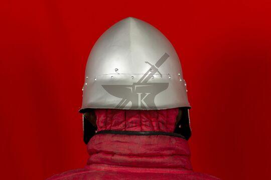 """Шлем """"Васхельм"""" тренировочный, вид сзади"""