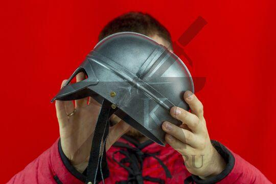 Шлем «Викинг» детский, пластик, вид сбоку