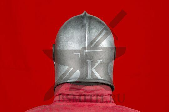 """Шлем бацинет """"For Honor"""", пластик, вид сзади"""