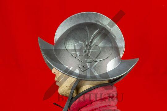 Шлем морион, пластик, вид сбоку
