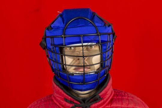 Шлем со стальной маской