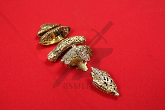 Набор на эфес и ножны каролинга из Сконе, фото 2