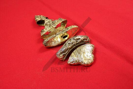 Набор на эфес и ножны каролинга из Сконе, фото 3