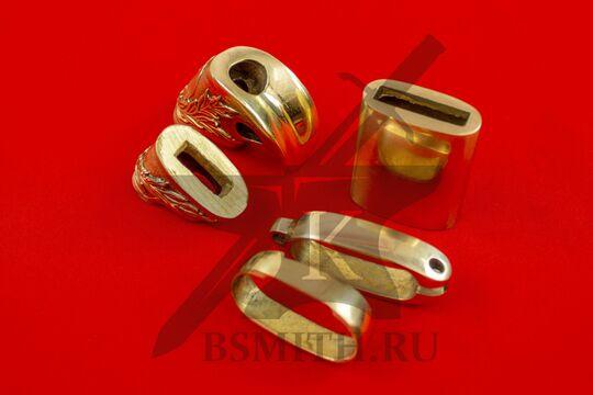 Набор на ножны и эфес шашки александровской, вид сверху