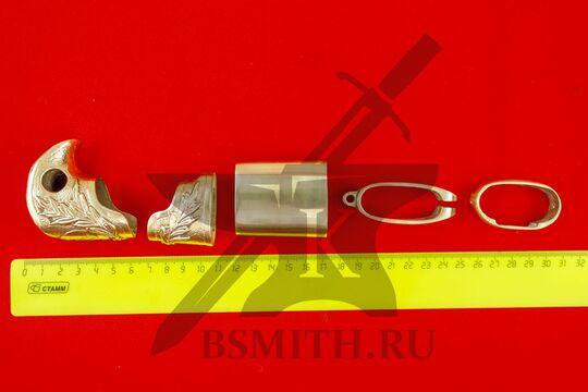 Набор на ножны и эфес шашки александровской, размеры