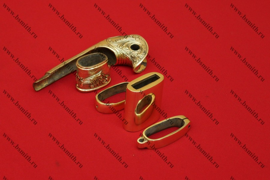 Набор на ножны и эфес шашки баклановской украшенной, фото 5