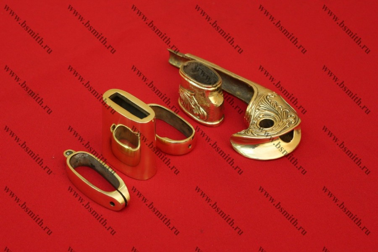 Набор на ножны и эфес шашки баклановской украшенной, фото 6