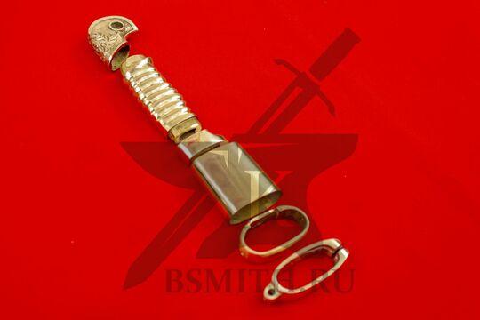 Набор на ножны и эфес шашки георгиевской, вид сбоку