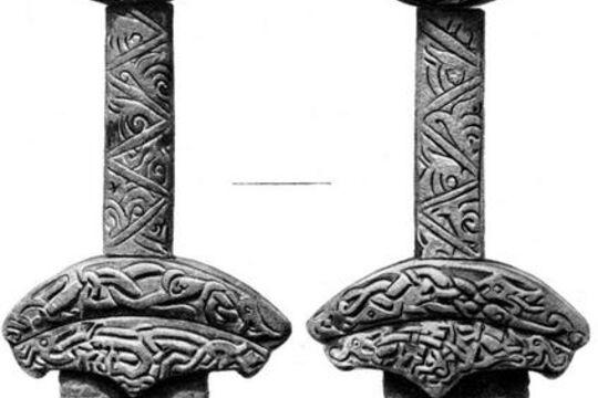 Каролинг из Фощеватой, фото артефакта