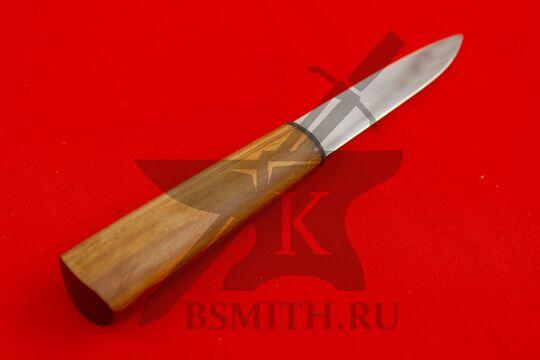 Нож бытовой, абрикос, рукоять крупно