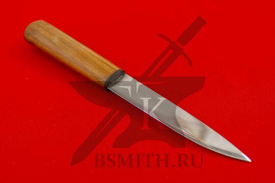 Нож бытовой, абрикос, клинок крупно