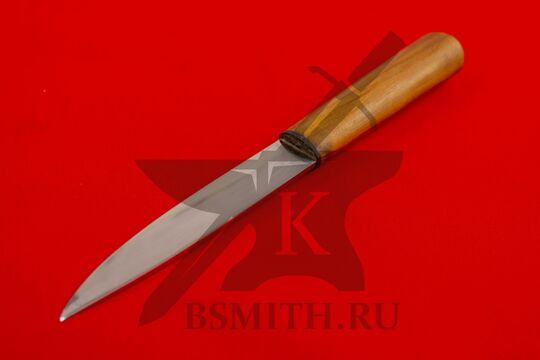 Нож бытовой, яблоня, со стороны клинка