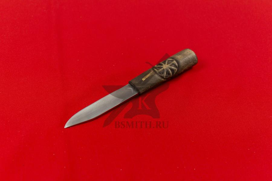 """Нож бытовой """"Коловрат - Сварог"""", фото со стороны клинка"""