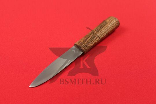 Нож бытовой средневековый, вариант 6, фото со стороны клинка